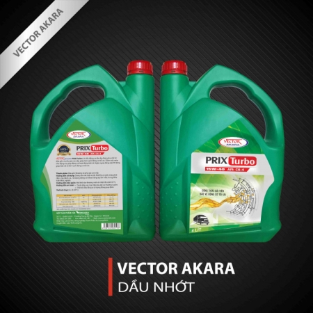 VECTOR AKARA PRIX TURBO CH4/SF, 15W-40/ 20W-50